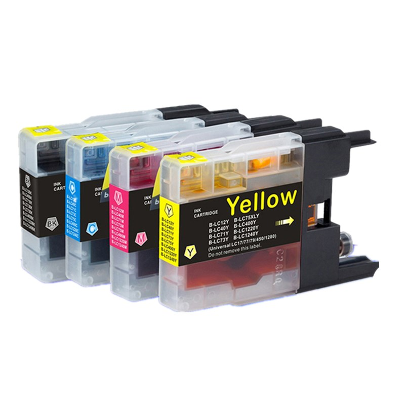 LC 12 40 71 73 75 400 1220 1240 Ink Cartridge MFCJ6910CDW MFCJ6710CDW MFCJ5910CDW MFCJ825N Inkjet Printer
