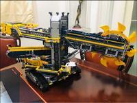 3929PCS Technic Bucket Wheel Excavator Model Building Blocks Bricks Construction Toys For Children Compatible 20015 42055