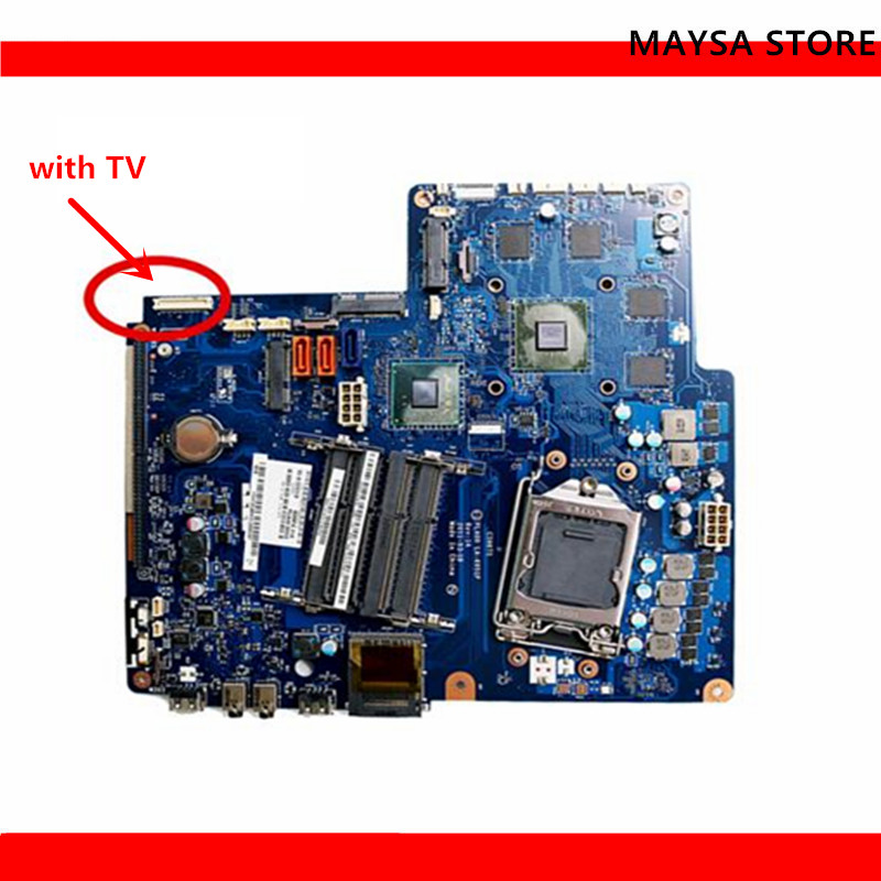11013461 Desktop Motherboard Fit For Lenovo B520 CIH67S <font><b>H67</b></font> PLA00 LA-6951P, with 4 memory slots ! image