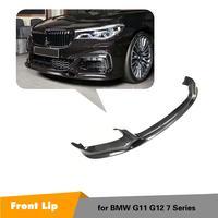 Carbon fiber front spoiler für BMW 7 G11 G12 carbon front lip für BMW 7 serie 2015 2018 carbon fiber front kinn Stoßstangen    -