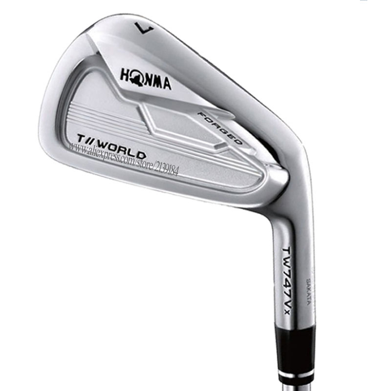 New Men Golf Clubs HONMA TW747 Vx Golf Irons 4-11 Irons Clubs Graphite Shaft Regular Or Stiff Golf Shaft Cooyute Free Shipping