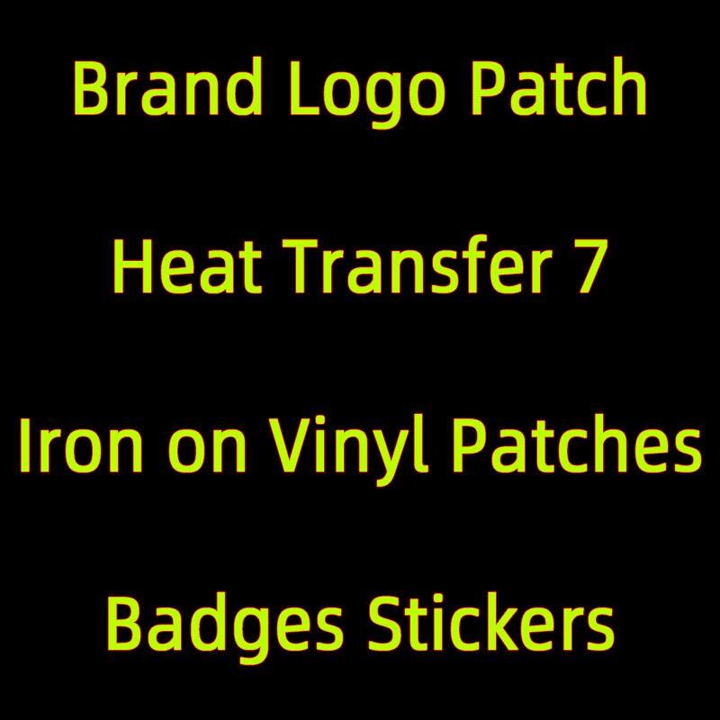 Нашивки с логотипом бренда «сделай сам» на заказ для одежды, термонаклейка для футболки, Термотрансферная виниловая наклейка, Термотрансфе...