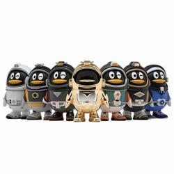 Поп мартс глухая коробка игрушечные Пингвины сюрприз кукла QQ фигурка мини фигурка подарок на день рождения девочка DC аниме девушка игрушка