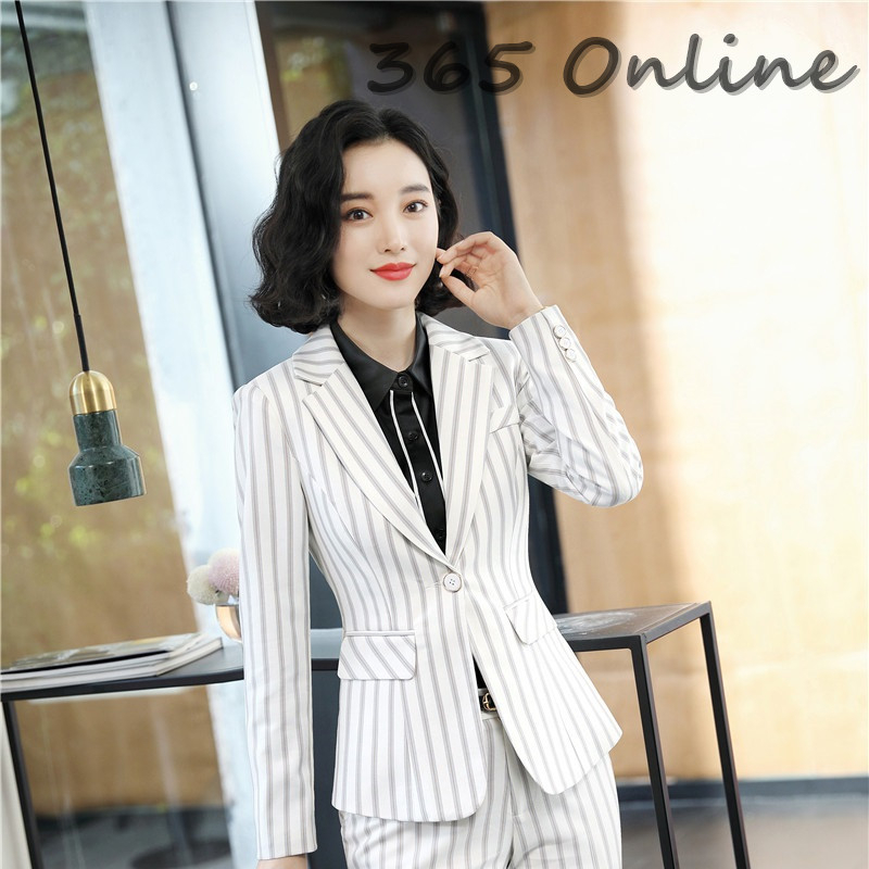 Autumn Winter Formal Women Business Blazers And Jackets Coat For Ladies Office Work Wear Blaser Female Tops Outwear Clothes