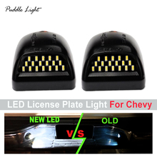 18LED License Plate Light Housing For Chevy  Silverado Tahoe Avalanche Classic Cadillac Escalade GMC Sierra Yukon цена и фото