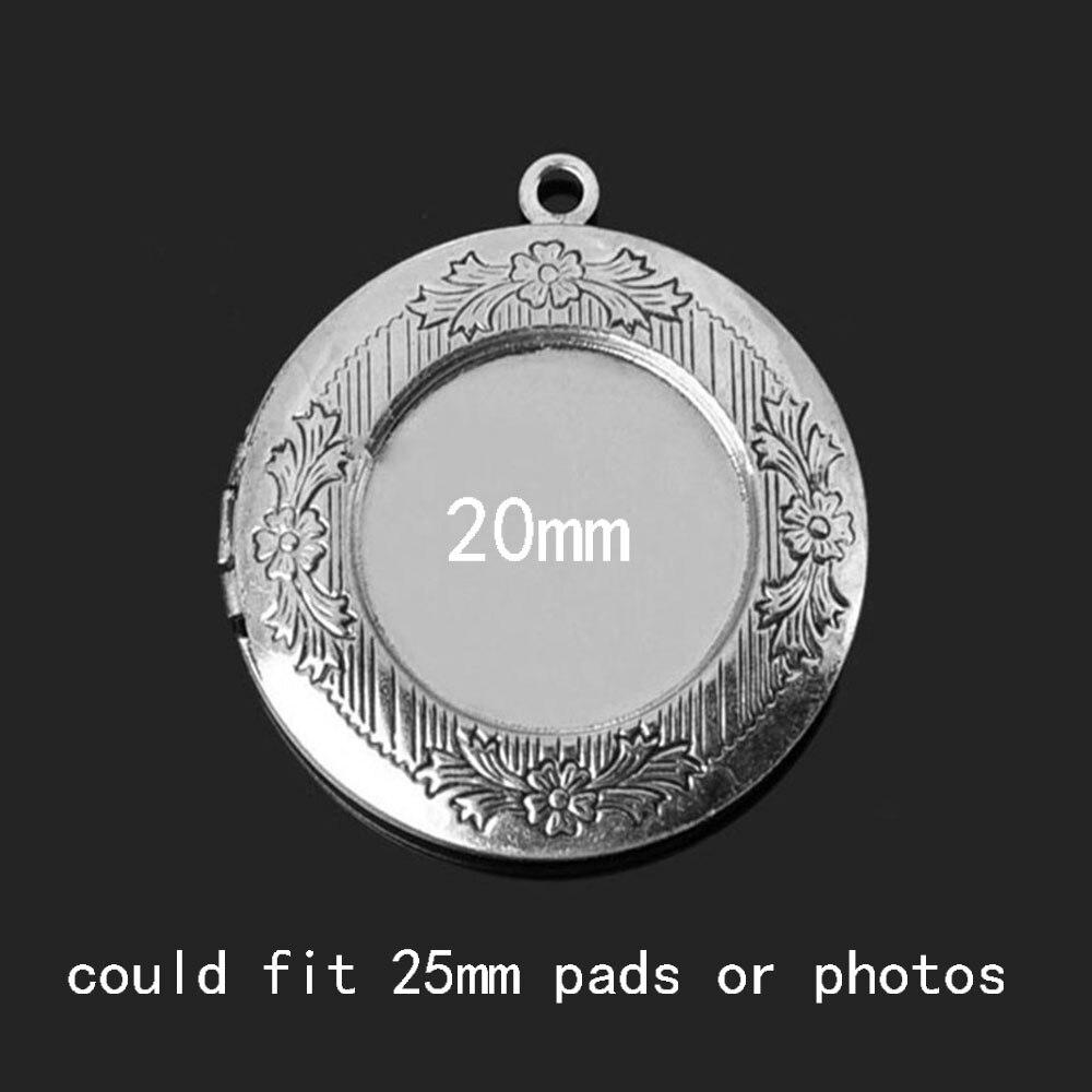 1pc 32mm unutarnji 24,5 mm mesing okrugli ormar fotografija difuzor - Modni nakit - Foto 3