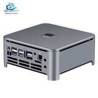 Mini PC Intel Core i9 i7 9850H i5 DDR4 RAM Win 10 Linux 4K UHD HTPC HDMI Best Minipc Desktop Komputer Computer Industrial Micro