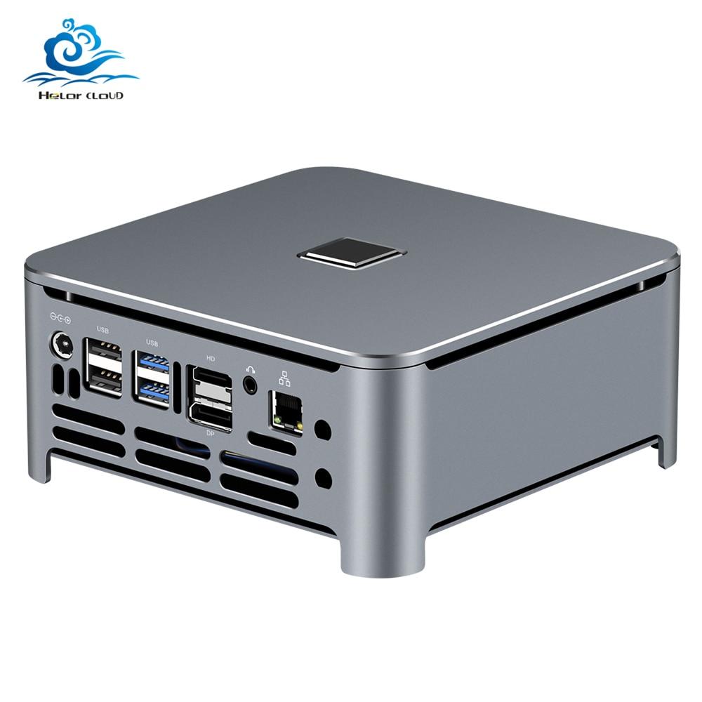 Mini-PC Intel Core i9 i7 9850H i5 DDR4, gagner 10 Linux, 4 K, HTPC, HDMI, meilleur Minipc, Komputer de bureau, Micro-ordinateur industriel