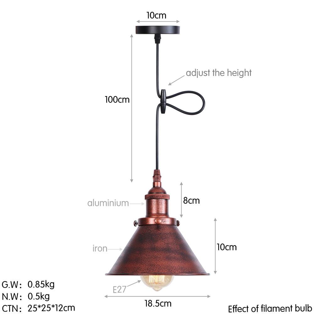 D0032铁锈色 尺寸图(英文版)