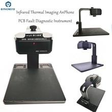 Qianli Analizzatore di macchina fotografica termica Immagini Termiche A Infrarossi PCB strumento di diagnosi per il telefono mobile di riparazione dei guasti della scheda madre