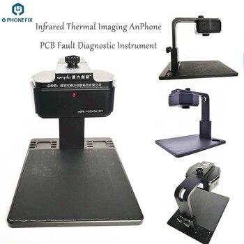 Qianli termal kamera kızılötesi termal görüntüleme analizörü PCB tanı aracı cep telefonu anakart için hata tamir