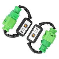 LED Rückleuchten Dynamische Blinker Adapter Harness Blinker Modul Kits Fit für audi A6 C7 2012-2018 Auto zubehör