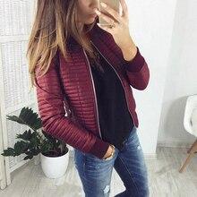 Женское демисезонное пальто, короткая секционная верхняя одежда, теплая куртка с хлопковой подкладкой, верхняя одежда, повседневная тонкая...
