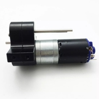 Spare Transfer Gear Box Part RC Car Accessories Trucks Metal Components Crawlers Case 370 Motor Bridge Device For WPL B16 B24