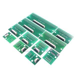 Image 5 - 20 قطعة الشركة العامة للفوسفات FFC كابل 0.5 مللي متر الملعب 4 6 8 10 12 14 16 20 24 30 40 50 60 دبوس موصل SMT محول إلى 2.54 مللي متر من خلال ثقوب DIP PCB