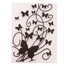 Embossing-Folder-Template Decoration-Crafts Scrapbook Photo-Album Card-Making Butterfly
