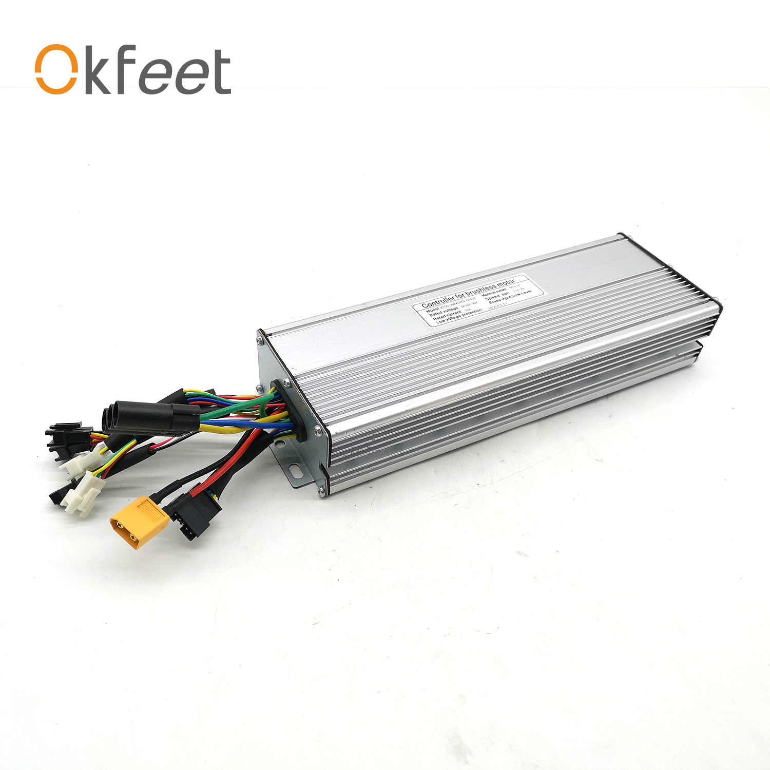 okfeet 56V-90V 60A Electric Bicycle Controller  KT Ebike 72V 3000W Controller 2000W 3000W  Motor Conversion Kit