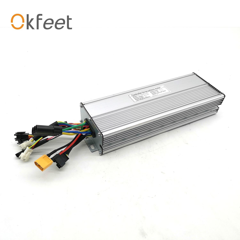 Okfeet 56V-90V 60A Electric Bicycle Controller  KT Ebike 72V 3000W Controller 2000W 3000W  Motor Conversion Kit