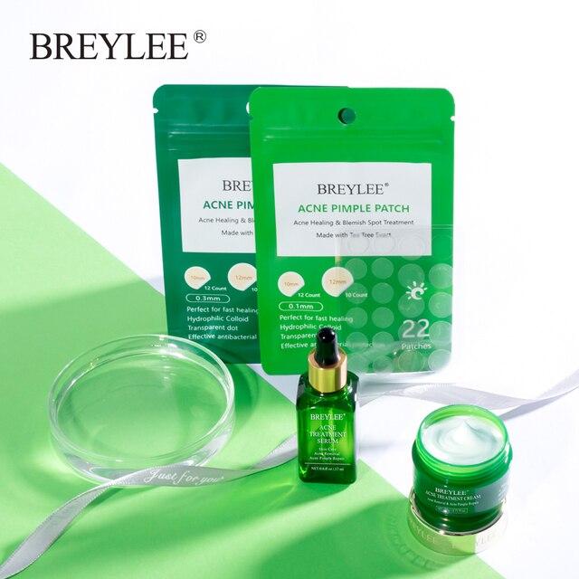 BREYLEE Acne Pimple Patch Face Mask Skin Care Acne Treatment Serum Face Cream Acne Cream Essence Sheet Mask Facial Care Tools 5