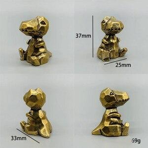Image 3 - DIY sevimli hayvan mefruşat ürünleri kolye Vintage pirinç araba dinozorlar Hippo DIY aksesuarları