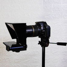 Мини телепромптер портативный мобильный телефон телепромптер для Canon Nikon sony камера речевое видео Vlog youtube с пультом дистанционного управления