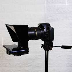 Mini Teleprompter Portable Mobile Phone teleprompter for Canon Nikon Sony Camera Speech video Vlog youtube with remote