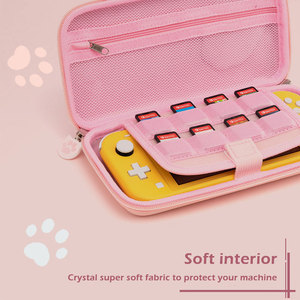 Image 5 - Nintend Switch Case Cat Claw CP Storage Bag NS Silicone Hard Shell Cover Box For Nintendo Switch Lite Game Console Accessories