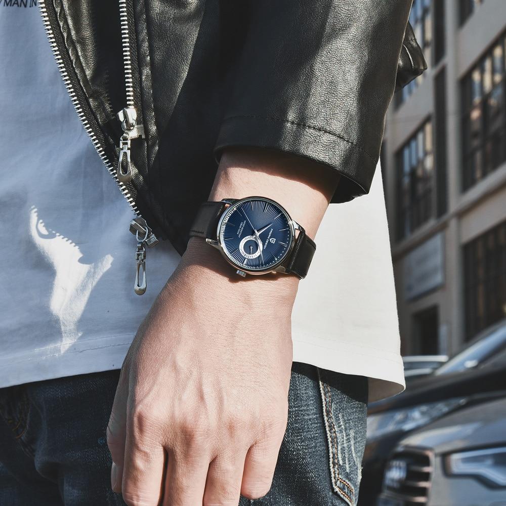 PAGANI DESIGN Men's Watches Top Brand Luxury Watch Men Simple Military Watch Men 10 Bar Waterproof Clock Man Relojes Hombre 2019