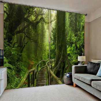 3D Curtain Fashion Customized Sky Spacecraft Curtains For Bedroom Custom Any Size 3D Curtain Blackout Living Room
