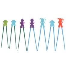 Chopsticks Training Kids Children Cartoon New Boy Girl Helper 1-Pair Beginner Gifts Random-Color