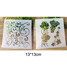 Reusable Flower Vine Stencil For Wall Painting Scrapbooking Stamping Stencil Bullet Journ Embossing Paper Card Flower Template butterfly reusable stencil for scrapbooking stamping embossing paper card drawing template stencil crafts bullet journal stencil