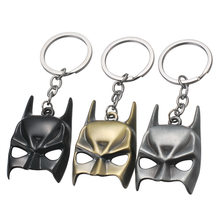 2020 America Captain Thor Batman Iron Man Superman Spider Man Avengers Keychain Keyring Movie Super Hero Key Ring Accessories(China)