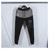 Mastermind-pantalones de chándal de patineta para hombre, pantalón para correr, empalme, estampado de calavera japonesa, hip hop, Japón, 2020