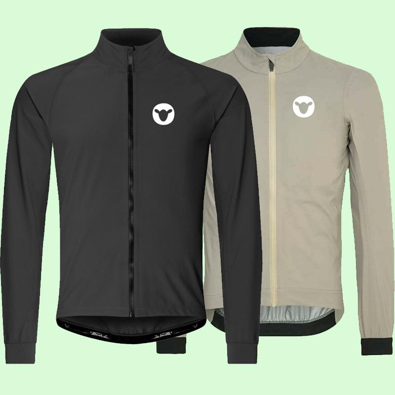 ветровка мужская Cycling Jacket Spring High Quality Multifunction Jersey Thin Long Sleeve Bike Windproof Rain Coat Windbreaker