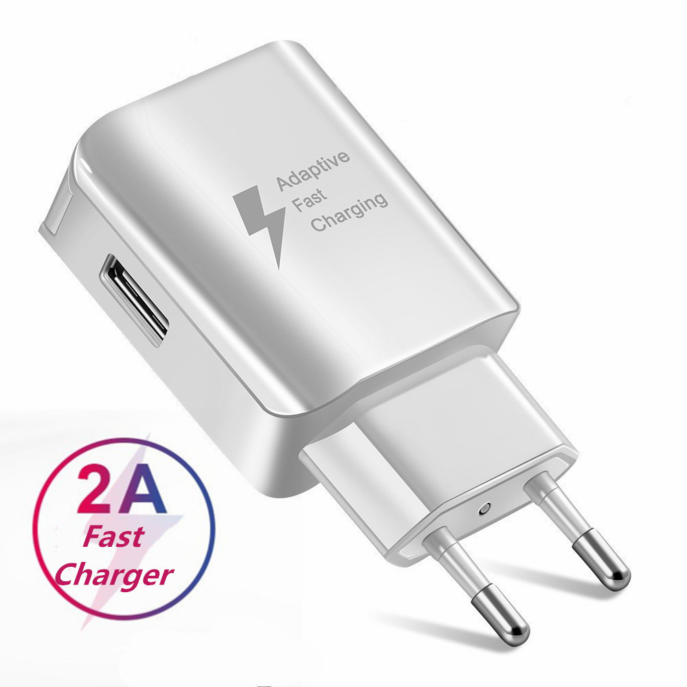 Universal Fast USB Charger EU US Plug Travel Wall Mobile Phone Charger Adapter For Samsung Xiaomi Huawei LG Micro USB Charging