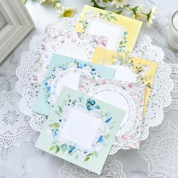 Vintage Elegant Lace Note Paper for DIY Scrapbooking Paper Card Making Craft 1