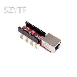 ENC28J60 Ethernet Shield V1.0 for arduino compatible Nano 3.0 RJ45 Webserver Module(China)