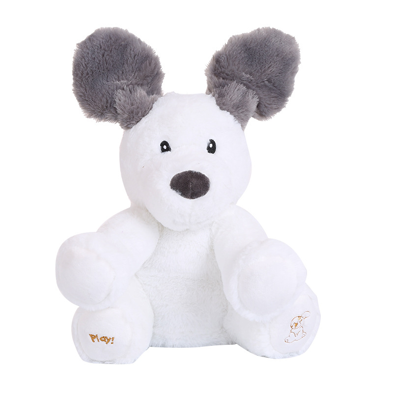Electronic Plush Toys Elephant Bear Dog Electric Speaking Singing Doll Rabbit Pig Musical Toys 21 Models
