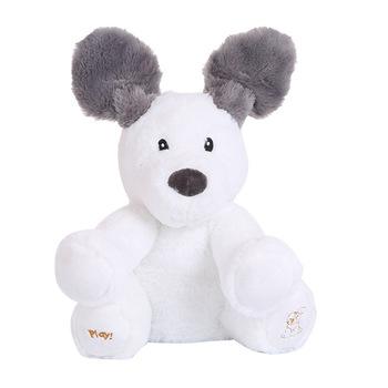 Elektroniczny zabawkowy pluszowy słonik niedźwiedź pies elektryczny mówiący śpiew lalka królik świnia zabawki muzyczne 21 modeli tanie i dobre opinie Jen Pei Li Far from Fire Pp bawełna 2-4 lat PP-001 11 cm-30 cm Zwierzęta i Natura Muzyka