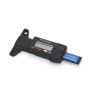 Image 2 - 0 25.4mm הדיגיטלי צמיג צריכת מד LCD תצוגה ברזולוציה 0.01mm סוללה כלולה