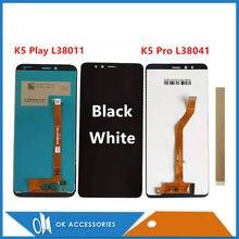 Original para lenovo k5 play l38011/k5 pro l38041 display lcd com tela de toque sensor vidro digitador assembléia com ferramentas fita