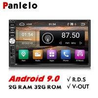 Panlelo S1/S1Plus 2 Din Android 2G RAM 32G ROM 7 inch 1080P GPS Radio 2din Android Multimedia For Lada Vesta Chevrolet Cruze