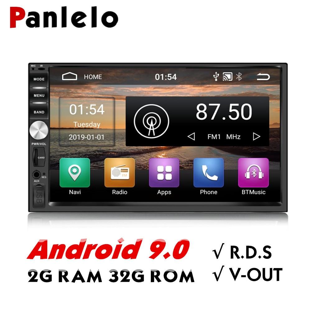 Panlelo S1/S1Plus 2 Din Android 2G RAM 32G ROM 7 zoll 1080P GPS Radio 2din Android multimedia Für Lada Vesta Chevrolet Cruze