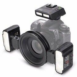 Meike MK-MT24 Macro Twin Lite Speedlight Flash for NikonD3100 D3200 D3300 D3400 D5000 D5300 D5500 D7000 D7100 DSLR Cameras+GIFT