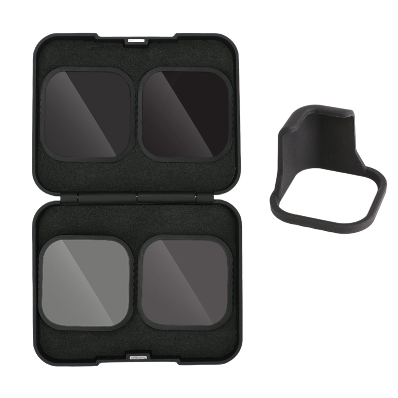 for GoPro Hero 8 Camera Black Accessories CPL ND8 ND16 ND32 Optical Glass Filter|Camera Filters| |  - title=