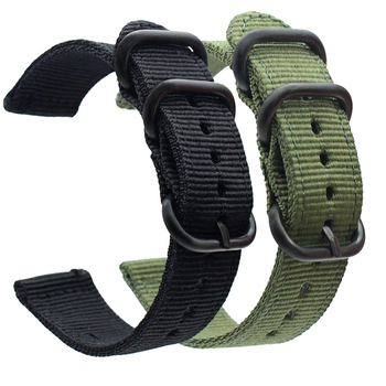 for Nokia steel hr band strap 18 20mm Quick Release Nylon WatchBands Wrist Strap for Nokia Withings Steel HR 36MM 40MM Watchband