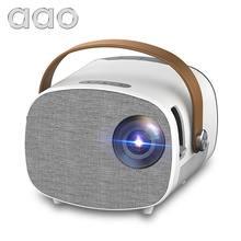 AAO YG320 mini projetor brasil unic full hd portatil led celular com projetor de imagem 1080p home theater casa inteligente cinema em casa mini tv digital portátil