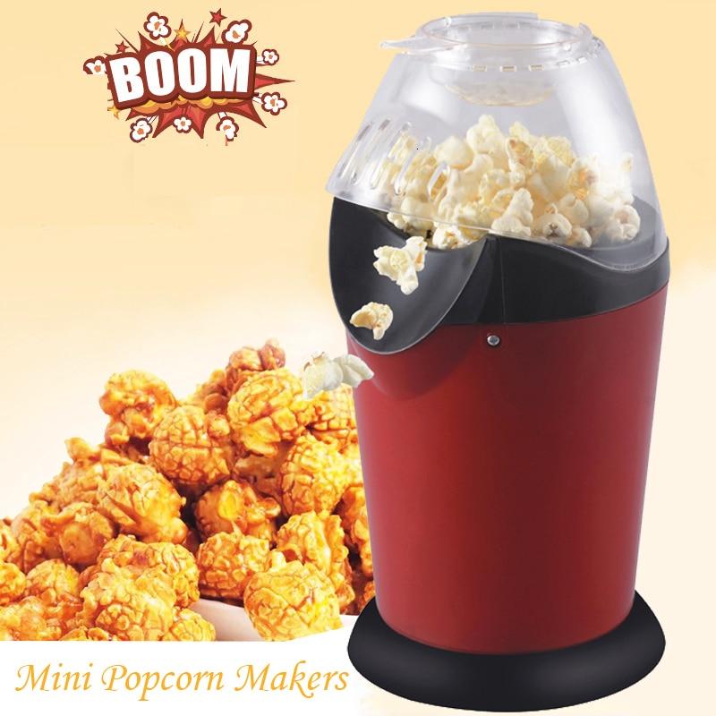 110v / 220v Household Popcorn Makers Hot Air Corn Popper Suitable For Diy Electric Popcorn Popper Mini Popcorn Machine