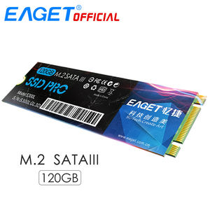 EAGET M.2 SATA 3.0 SSD 120GB For Ultrabook 2280 NGFF Internal Solid State Drive HD HDD Flash Memory Disk Shockproof For Laptop