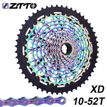 ZTTO 12 S MTB 12 prędkości 10-50T 52T kaseta rowerowa XD Rainbow pełna stal 9T 12 prędkości rower górski koło zamachowe tanie i dobre opinie STEEL 10-52T CN (pochodzenie) Wolnobieg 72 ustawienia